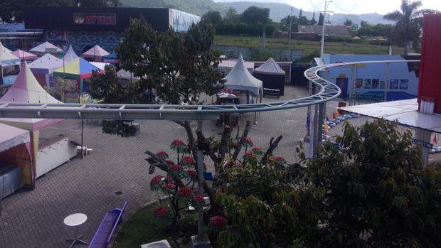 Pengelola Pastikan Wahana Sepeda Udara di Kota Batu Aman