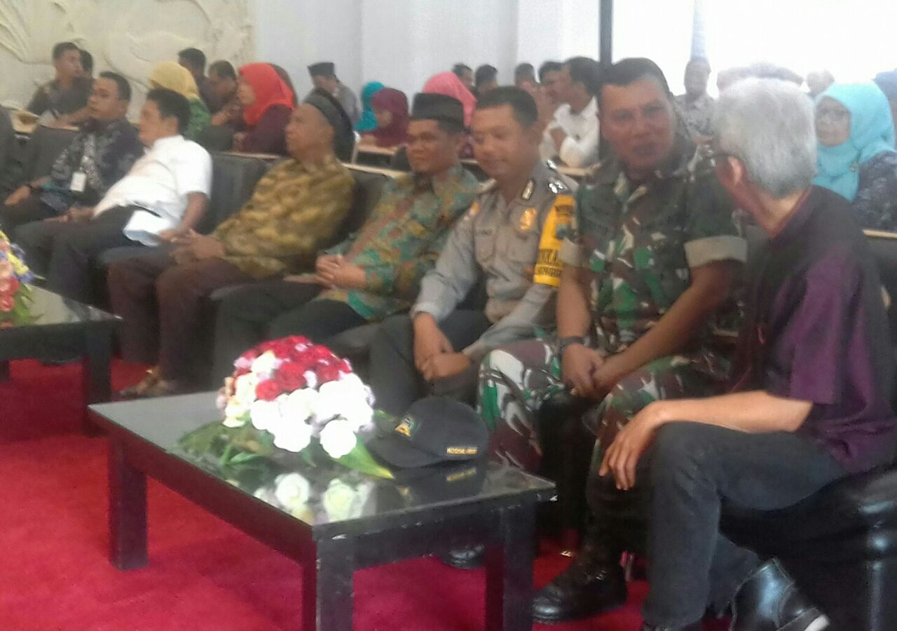 Bhabin Kel. Songgokerto Halal Bihalal bersama tokoh masyarakat