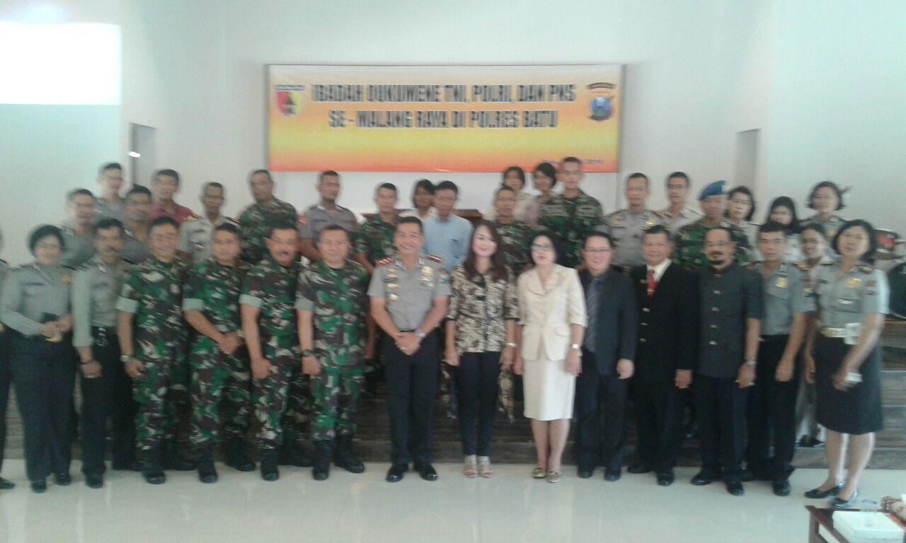 Giat Ibadah TNI,Polri dan Pns semalang raya di SAB Beji