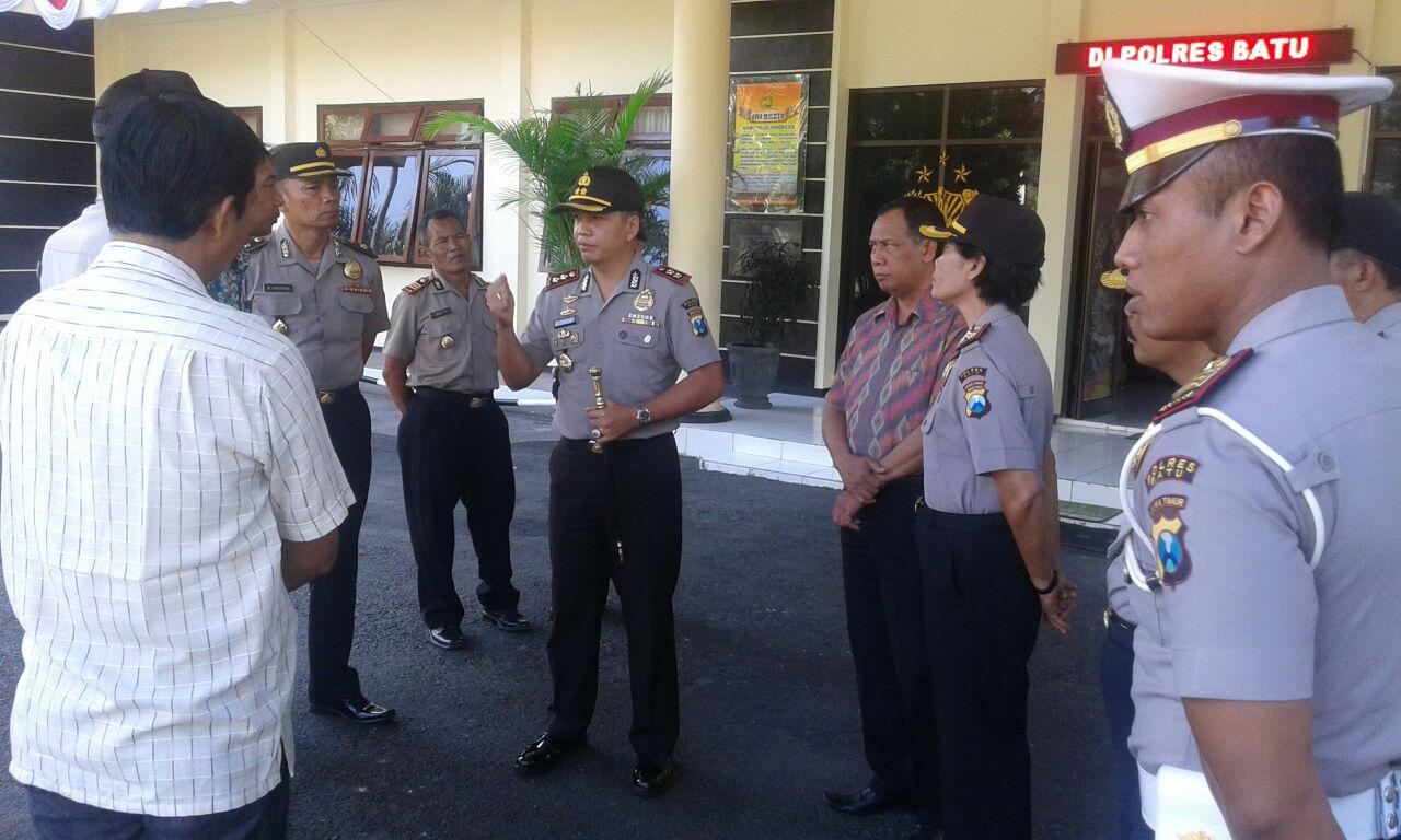 Penekanan Kapolres Batu kepada para perwira
