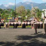 P.S Kanit Lantas Pujon Polres Batu Giat Pelatihan Gaktur Lantas Ke Satpam PT.BISI