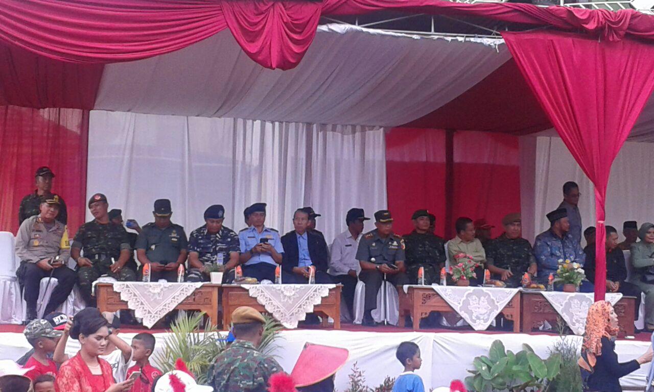 Kapolres Batu hadiri Karnaval Alutsista dalam rangka HUT TNI ke 71