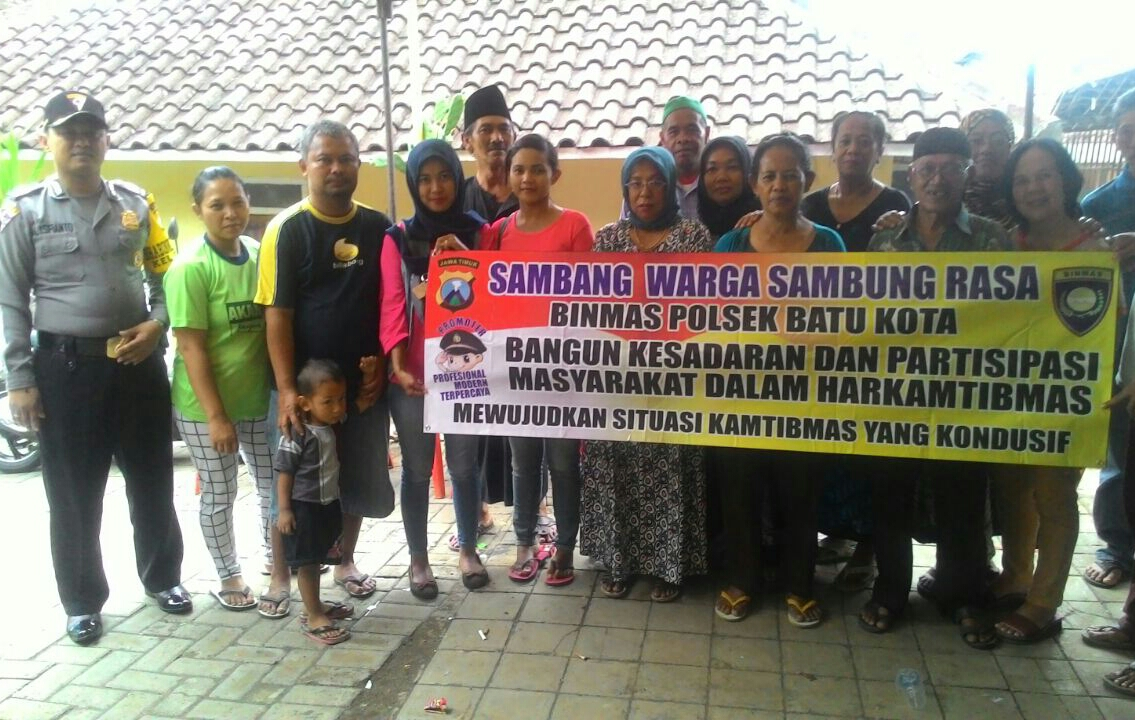 SAMBUNG RASA BHABIN TEMAS DALAM OPS. BINA KUSUMA SEMERU 2016