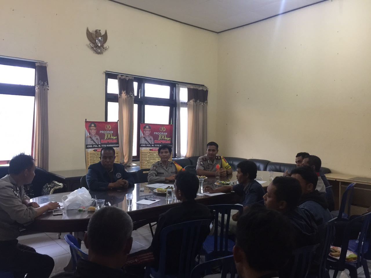 TECHNICAL MEETING KEJURKOT DRUM BAND PDBI KOTA BATU 2016
