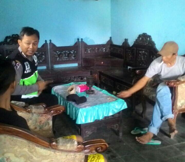 BHABIN SAMBANG DAN BERKUNJUNG TATAP MUKA