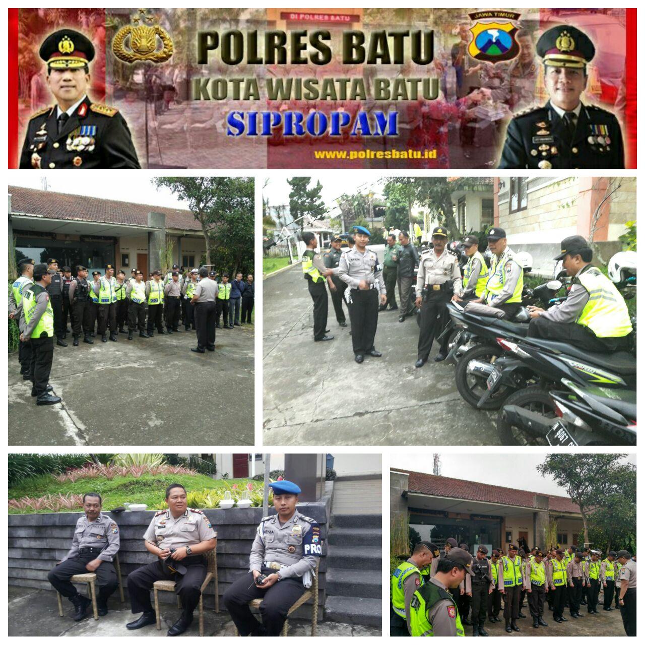 Pengamanan Perayaan Natal Bersama Bksg Kota Batu di SAB