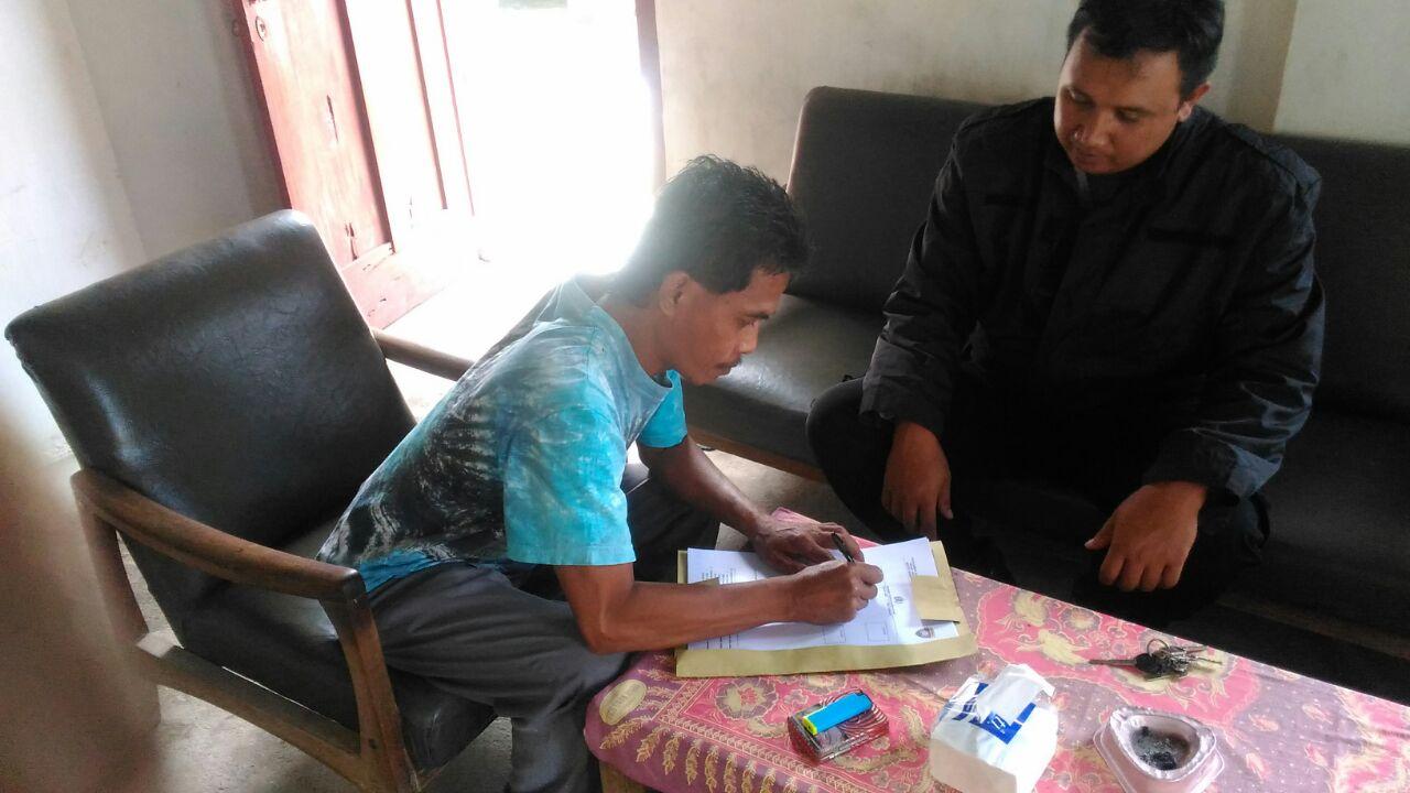 Bhabinkamtibmas Desa Bulukerto Polsek Bumiaji Proaktif Lakukan Dds ke Warga