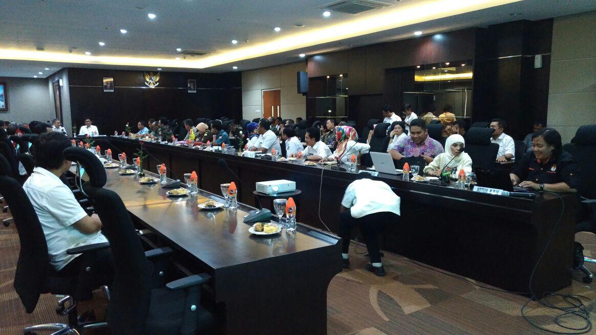 Rapat Koordinasi Dan Kunjungan Kerja Kemenko Polhukam RI Di Balai Among Tani