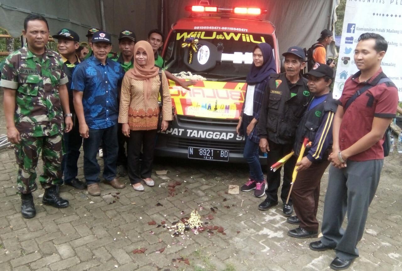 Pengamanan Pelaksanaan Giat Launcing Ambulan Gratis Di Coban Kethak Kasembon