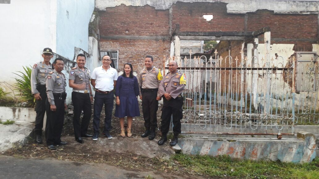 Tim Peneliti Sejarah Dari Mabes Polri Tiba Di Flamboyan didampingi Kapolres Batu beserta PJU