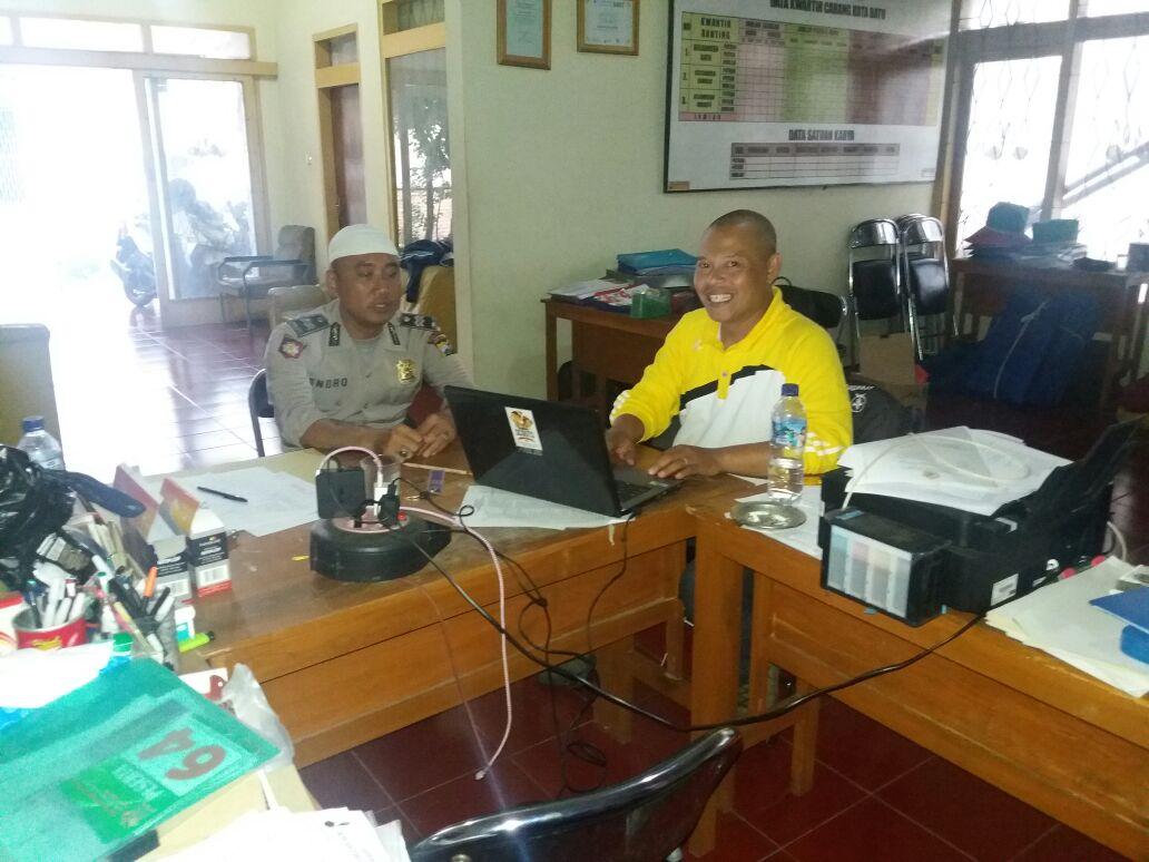 Sat Binmas Koordinasi dengan Kwarcab Pramuka Kota Batu Persiapan Apel Besar Pramuka Saka Bhayangkara di Bojonegoro