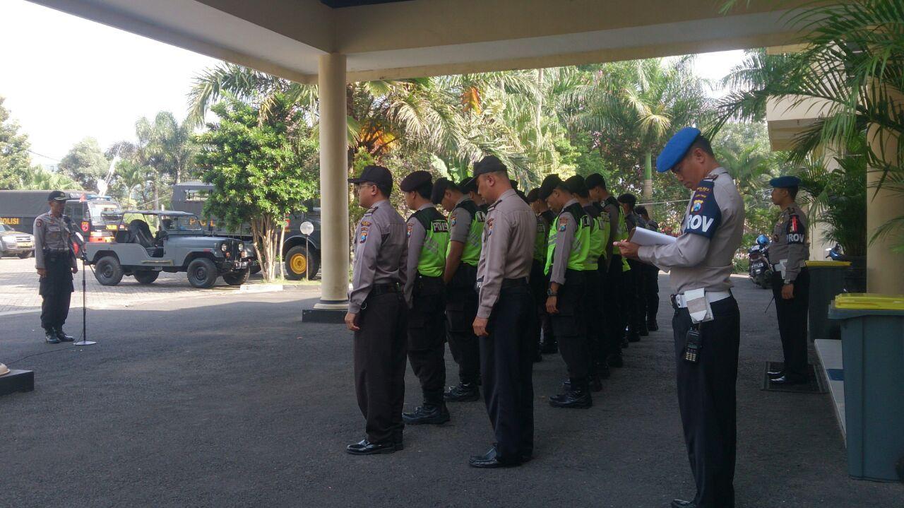 Karendal Ops Mantap Praja Apel Pimpin Apel Pengamanan