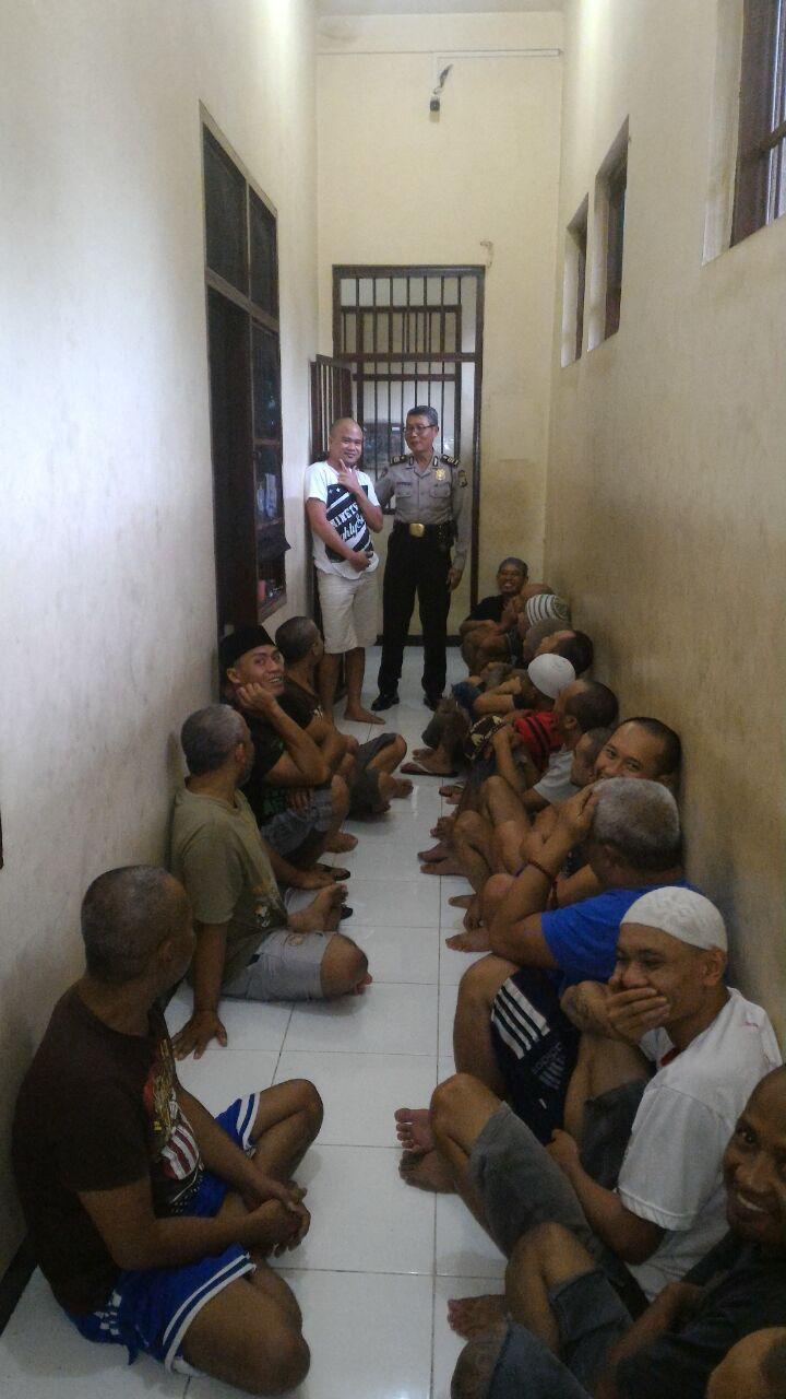 Kontrol Ruang Tahanan Untuk Cegah Tahanan Lari