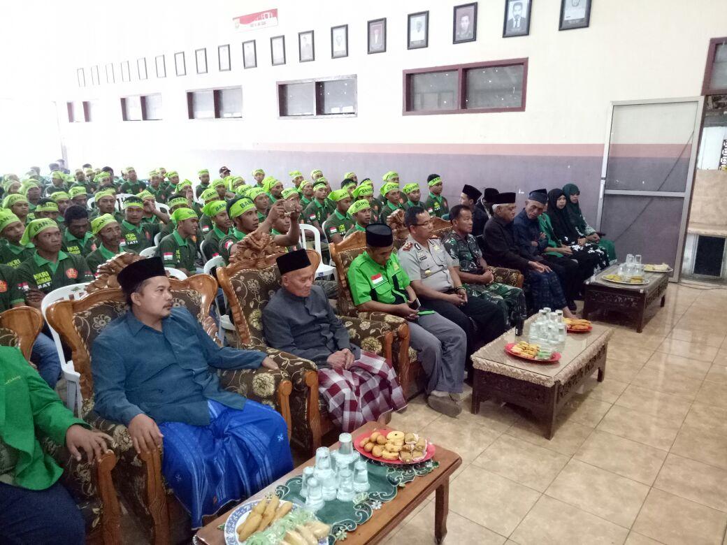 Kapolsek Pujon hadiri Pembukaan Diklat Kepemimpinan Dasar ( DKD)  Ansor Kecamatan Pujon Angkatan XXI