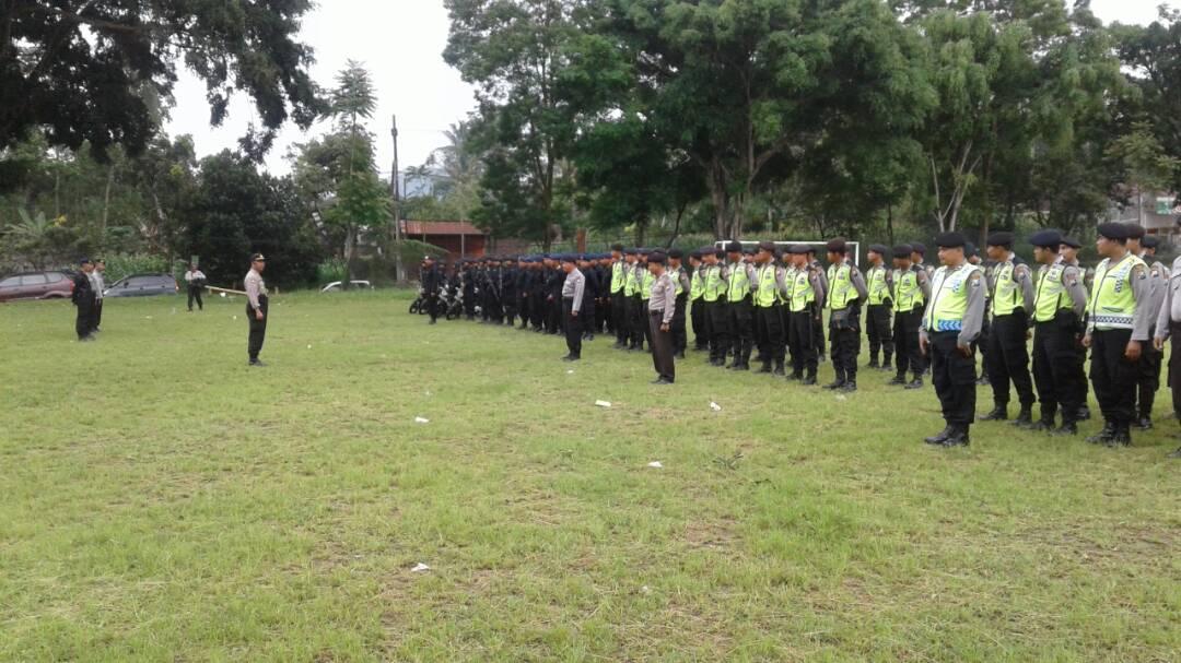 Kapolsek Ngantang Sebar Anggota PAM Pilkades