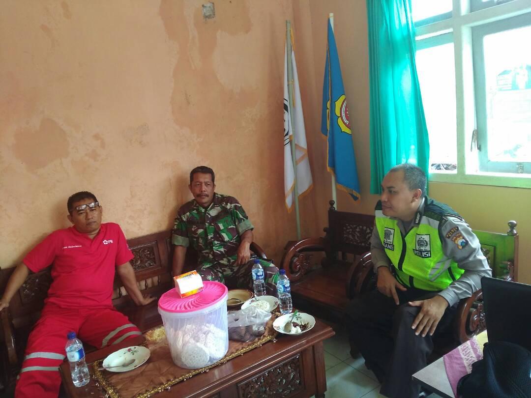 Kapolsek Pujon Polres Batu Bersama Anggota Giatkan Patroli Rutin Untuk Menciptakan situasi Aman Kondusif