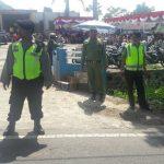 Anggota Polsek Pujon Polres Batu Giat Sambang Tokoh Masyarakat Untuk Menjalin Sinergitas Dan menjaga Keamanan Wilayah Yang Kondusif