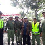 Anggota Bhabinkamtibmas Polsek Batu Polres Batu Lakukan Sambang Binluh Pembinaan Satpam di Wilayahnya