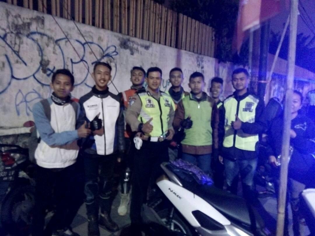 Sat Lantas Polres Batu Jadikan Anggota Club Motor Pelopor Keselamatan