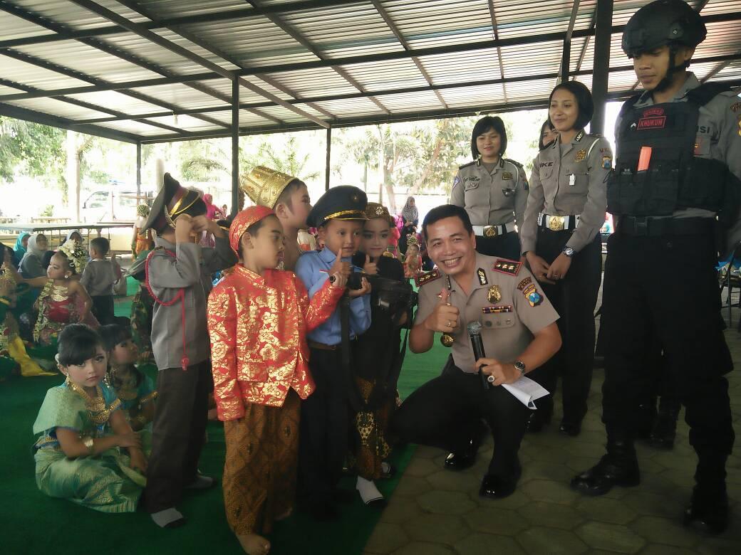 Memperingati Hari Kartini, Polres Batu Adakan Giat Polisi Sahabat Anak