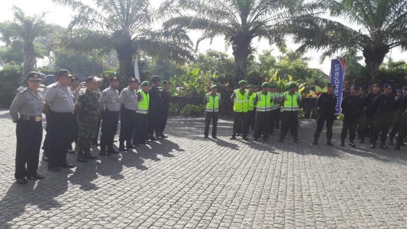 Kabag Ops Polres Batu Kompol Zein Mawardi A.md. Pimpin Apel Persiapan Pengamanan KWB Super 2 Adventure Trail