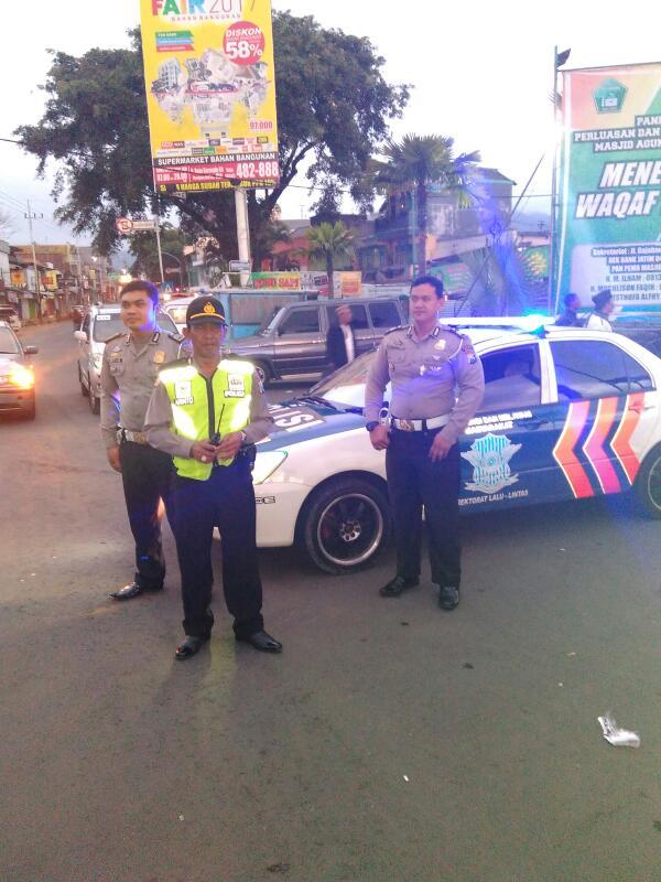 Jalin Silaturrahmi Polsek Batu Polres Batu Juga Giatkan Patroli Keamanan
