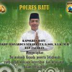 Anggota Polsek Pujon Polres Batu Mentingkatkan Keamanan Wilayah Binaanya