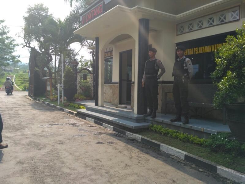 Sabhara Polres Batu Tambahkan Personel Untuk memperkuat Mako Polres
