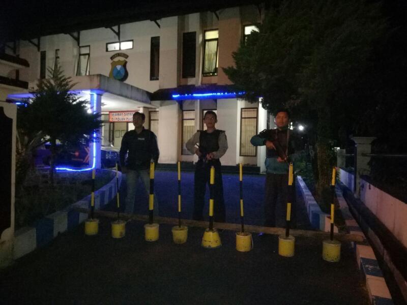 Antisipasi teroris Polsek Pujon Gelar Sispam Mako