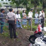 Bhabin Polsek Kasembon Polres Batu Sambang ke Petani