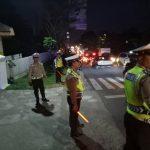 Satlantas Polres Batu Bantu Amankan Perayaan Paskah Se-Malang Raya Di SAB
