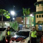Tingkatkan Rasa Aman Masyarakat Kota Batu, Sat Lantas Polres Batu Laksanakan Pengamanan Ibadah Tarawih