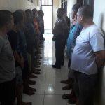 Pawas Mengecek dan kontrol tahanan Polres