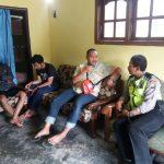 Patroli, Kanit Binmas Polsek Ngantang Polres Batu Menjaga Kerukunan Warganya Agar Wilayah Binaanya Aman Dan Nyaman