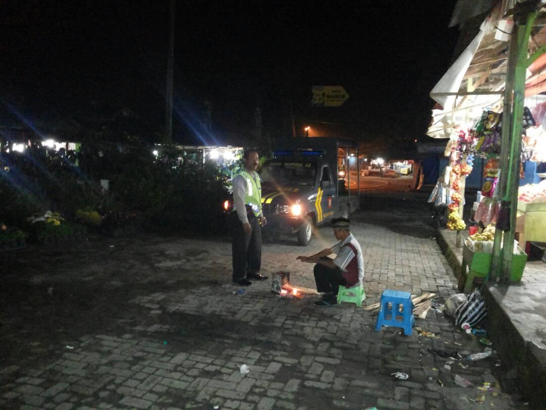 Jelang Bulan Suci Ramadhan Polres Batu Tingkatkan Patroli Malam