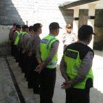 Kapolsek Ngantang Polres Batu Pimpin Langsung Apel Pagi Polsek Jaga Kedisiplinan