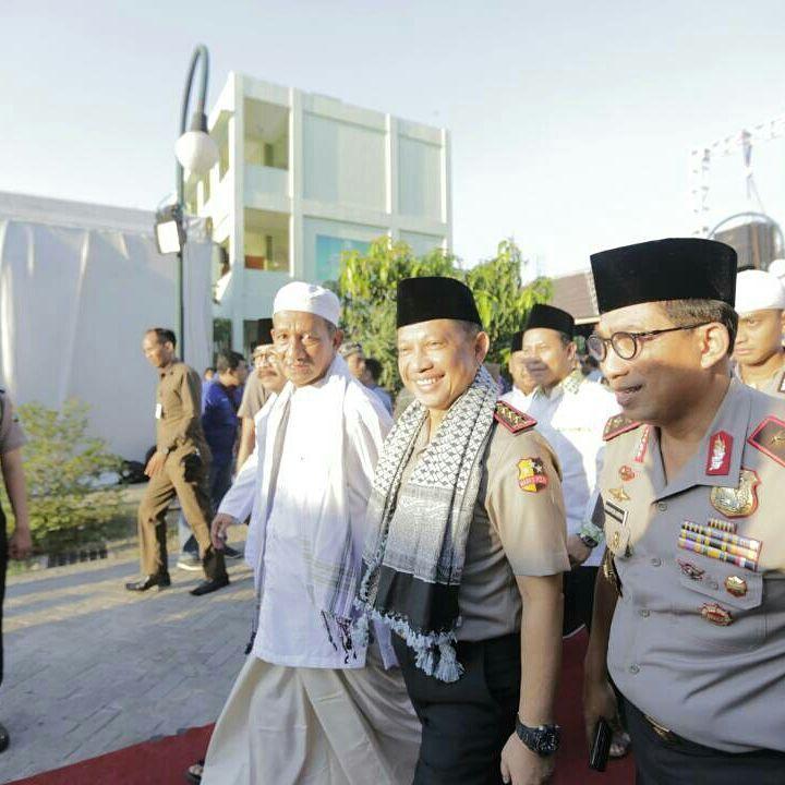 Safari Ramadhan Ke Jatim, Kapolri Ajak Ulama dan Seluruh Elemen Masyarakat Jaga NKRI