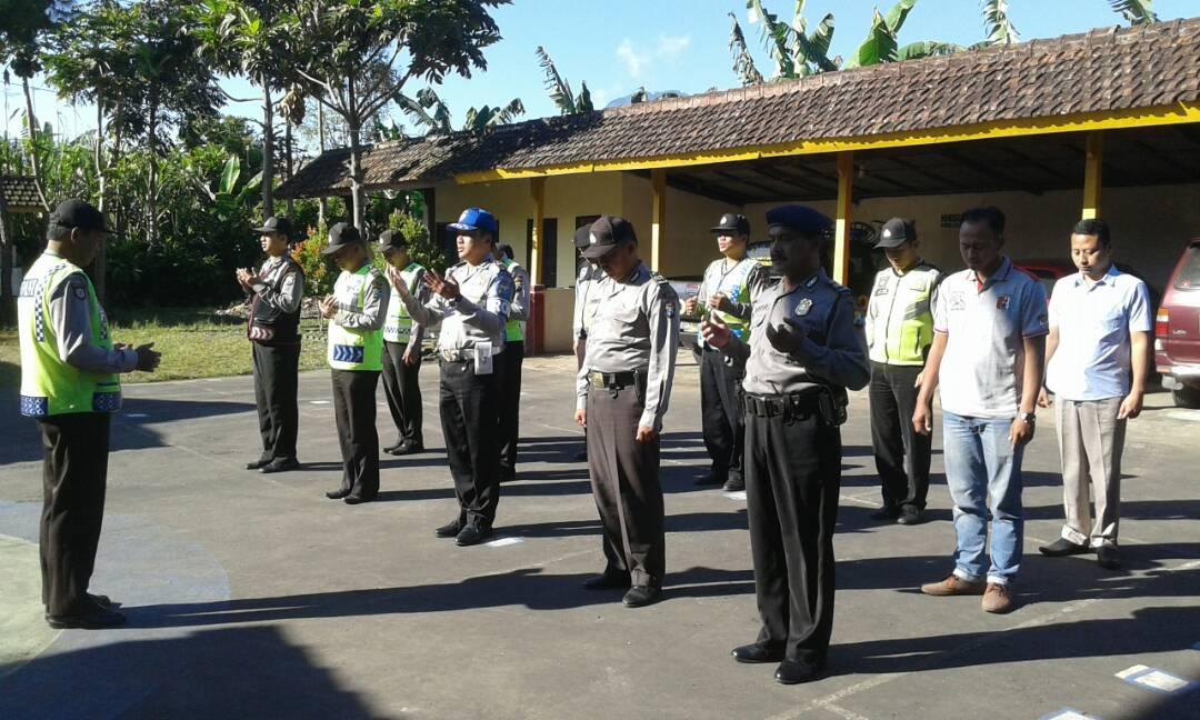 Bulan Ramadhan Polsek Pujon Polres Batu Tetap Laksanakan Apel Pagi