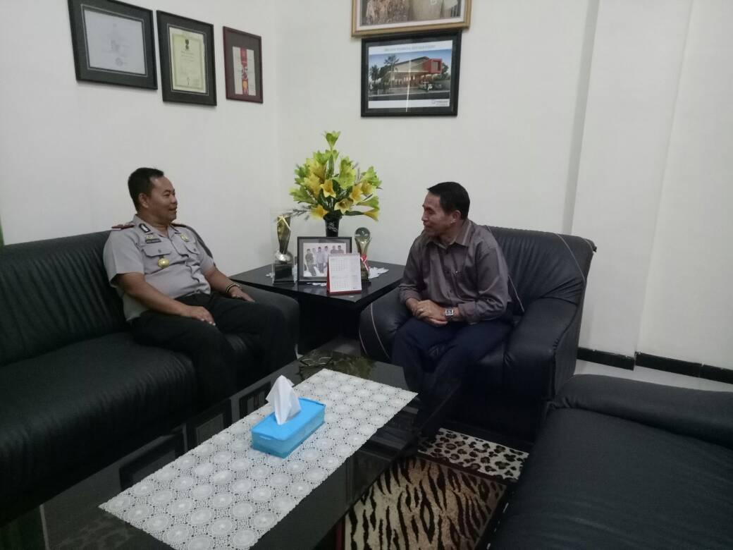 Kapolsek Pujon Polres Batu Sambang ke Ketua KOP SAE