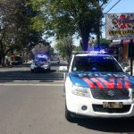 Tingkatkan Keamanan Kota Batu, Anggota Sat Lantas Mobiling Antisipasi Laka Lantas