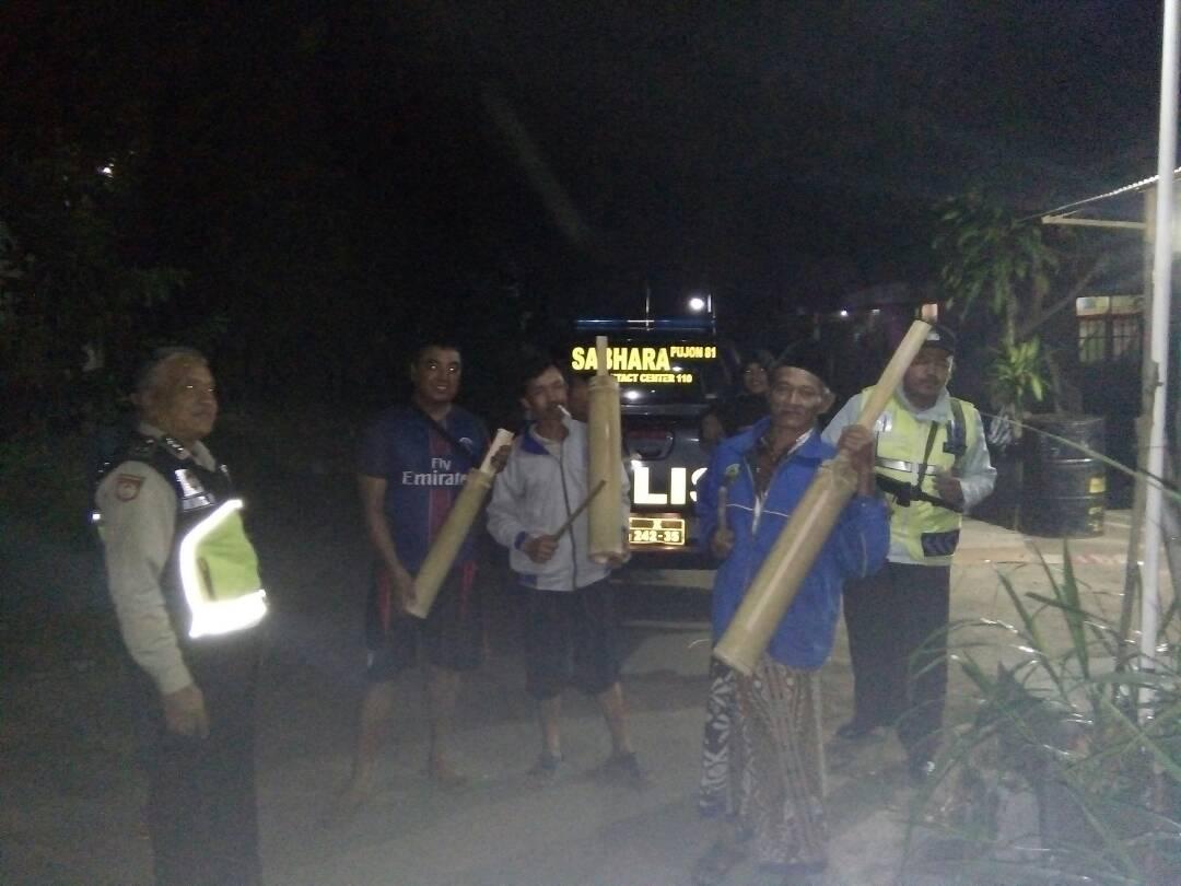 Lakukan Preemtif Polri Pada Masyarakat Jalin Mitra Kerja, Polsek Batu Polres Batu Patroli DDS Tatap Muka