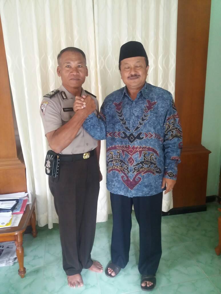 Satbinmas Silaturahmi Kamtibmas Kepada Ketua NU Terpilih Kota Batu