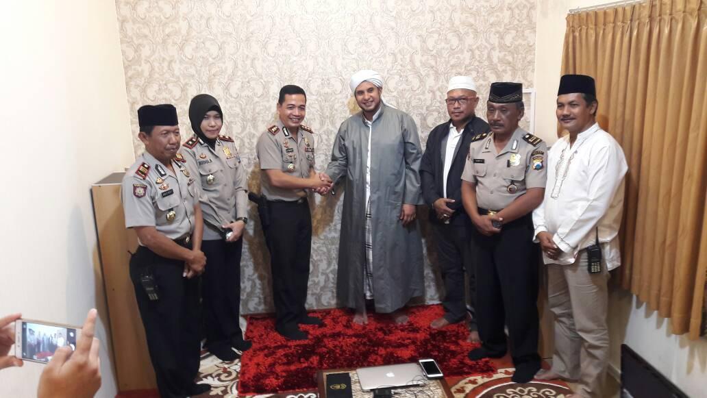 Habib Jamal Puas Dengan Kinerja Kapolres Batu