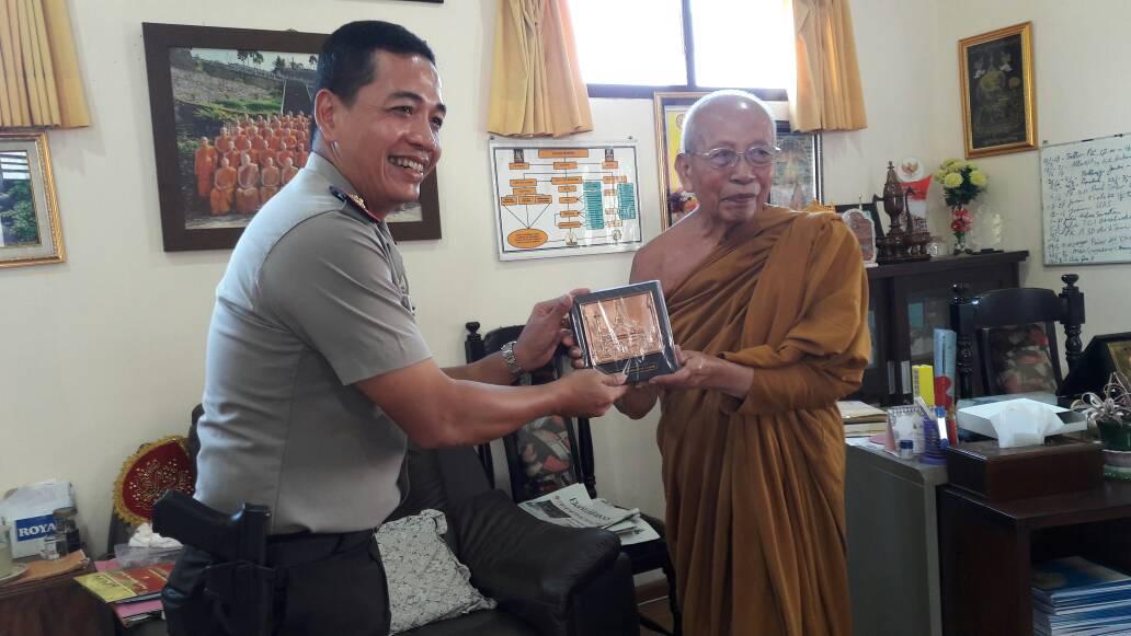 Bante Kanthidharo Mahathera Do'akan Kapolres Batu
