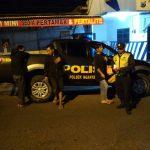 Patroli Hanting Wilayah Binanya, Anggota Satsabhara Polsek Pujon Polres Batu Antisipasi Kerawanan