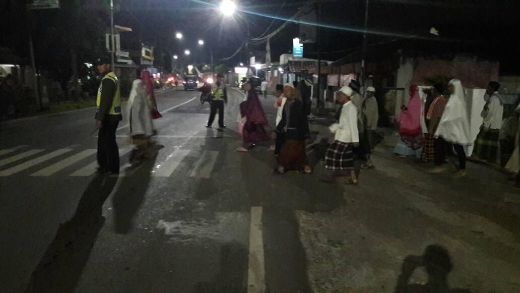 Ramadhan, Polsek Junrejo Polres Batu Giatkan Pengamanan Shalat Tarawih