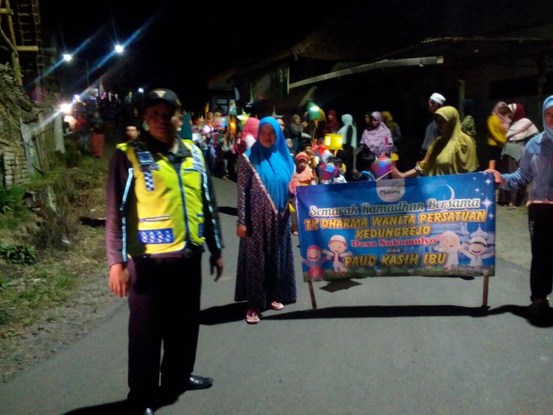Pawai Lampion Kecamatan Pujon Diamankan Polsek Pujon Polres Batu
