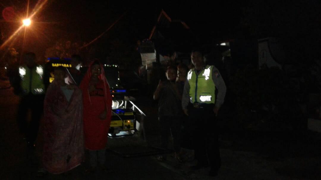 Polsek Ngantang Polres Batu Patroli Sahur Selama Bulan Ramadhan
