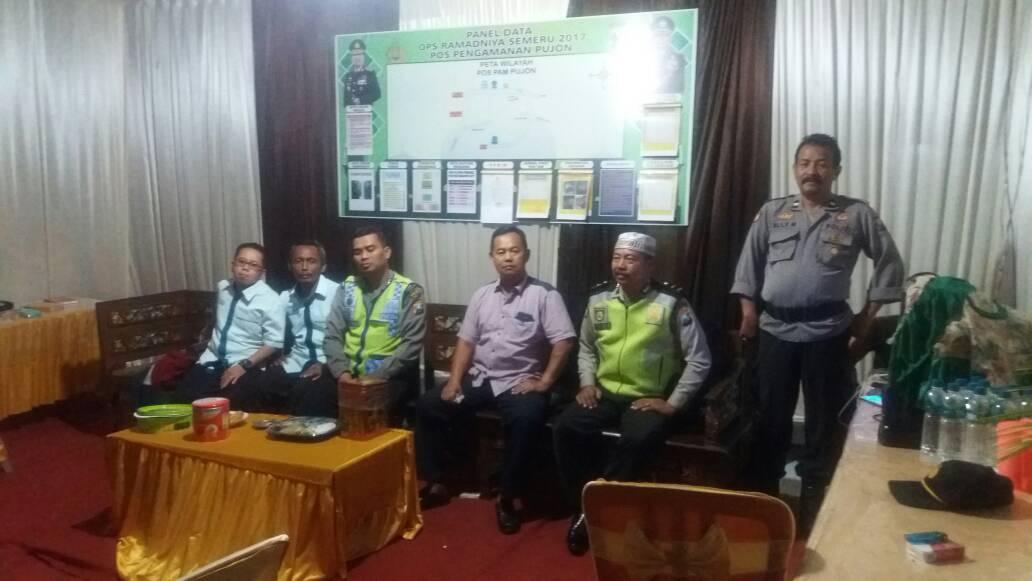 Kapospam Pujon Polres Batu Laksanakan Pengecekan Anggota