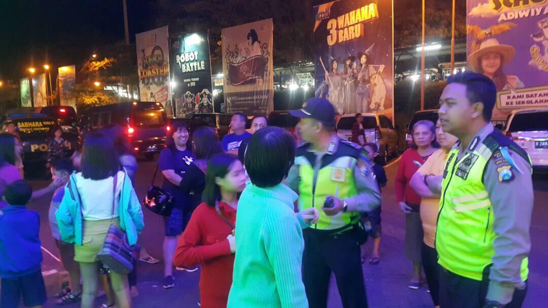 Pospam Dewisartika Polres Batu Giat Patroli Wisata Demi Berikan Rasa Aman Kepada Masyarakat